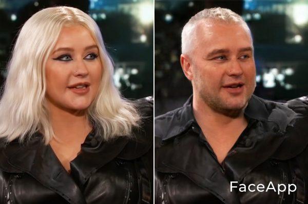 Christina Aguilera Uomo
