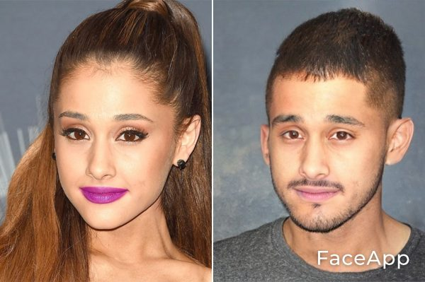 Ariana Grande uomo