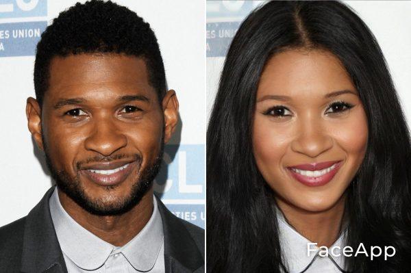 Usher Diventa Donna Con Il Filtro Cambio Sesso Faceapp