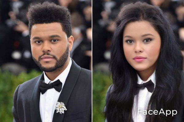 The Weeknd Diventa Donna Con Il Filtro Cambio Sesso Faceapp