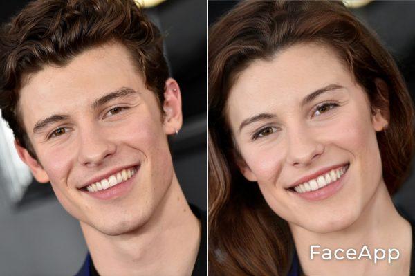 Shawn Mendes Diventa Donna Con Il Filtro Cambio Sesso Faceapp