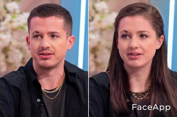Charlie Puth Diventa Donna Con Il Filtro Cambio Sesso Faceapp