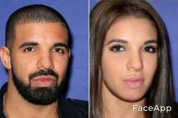 Drake Diventa Donna Con Il Filtro Cambio Sesso Faceapp