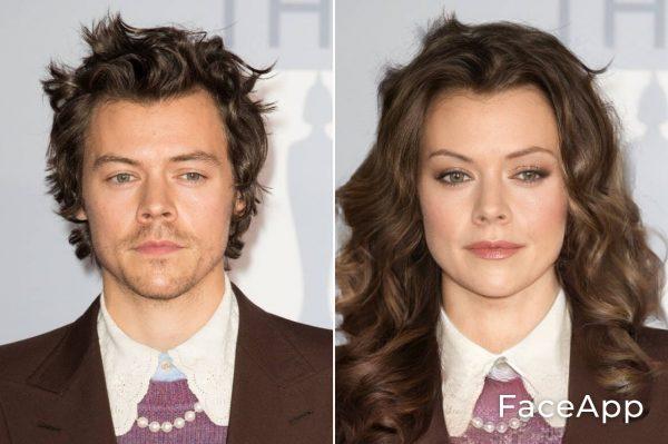 Harry Styles Diventa Donna Con Il Filtro Cambio Sesso Faceapp