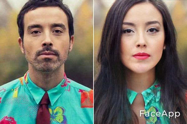 Diodato Diventa Donna Con Il Filtro Cambio Sesso Faceapp