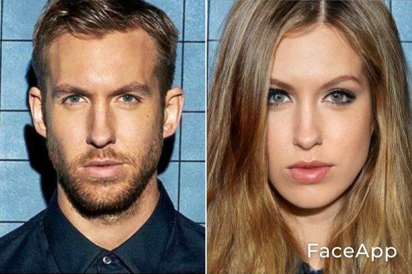 Calvin Harris Diventa Donna Con Il Filtro Cambio Sesso Faceapp