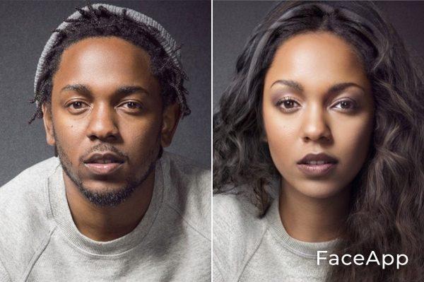 Kendrick Lamar Diventa Donna Con Il Filtro Cambio Sesso Faceapp