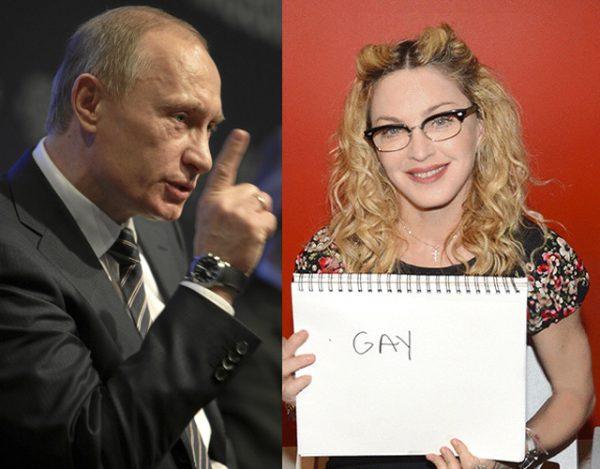 Madonna Vs Putin Russia Multa