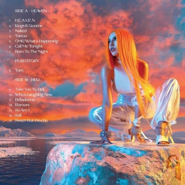 ava max heaven hell album