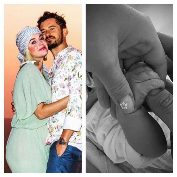 Katy Perry Daisy Dove Bloom Birth Baby