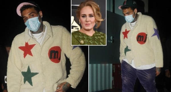 chris brown adele