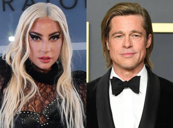 Gaga Brad Pitt