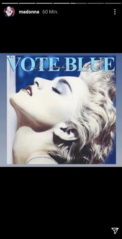 True Blue Madonna Democratici