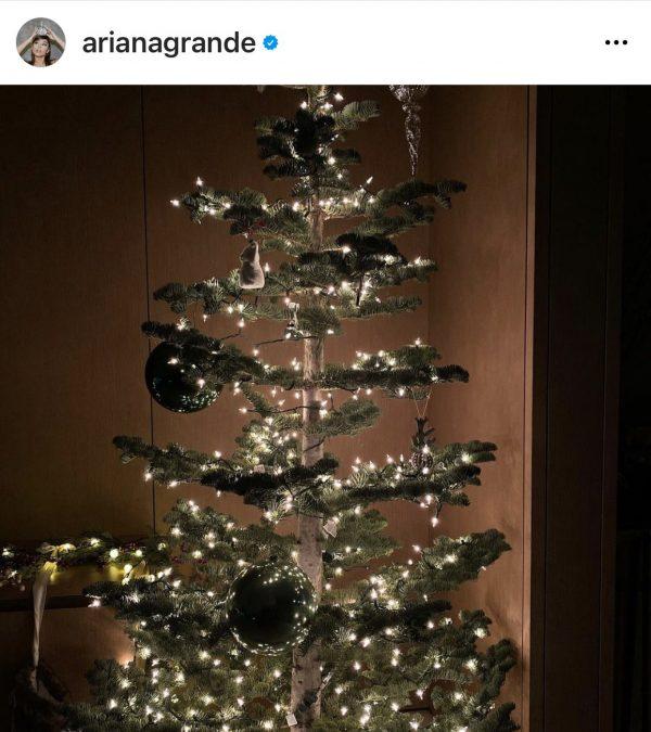 albero di natale ariana grande brutto
