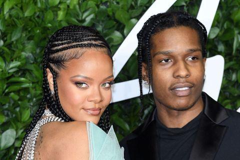 Rihanna Asap Rocky Bacio Fidanzato