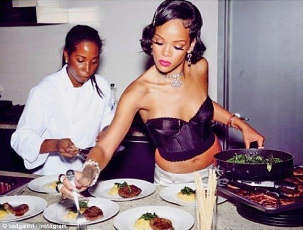 Rihanna Libro Cucina Ricette