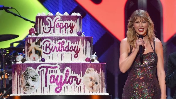 taylor compleanno