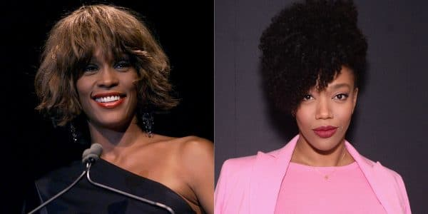 Whitney Houston Naomi Ackie