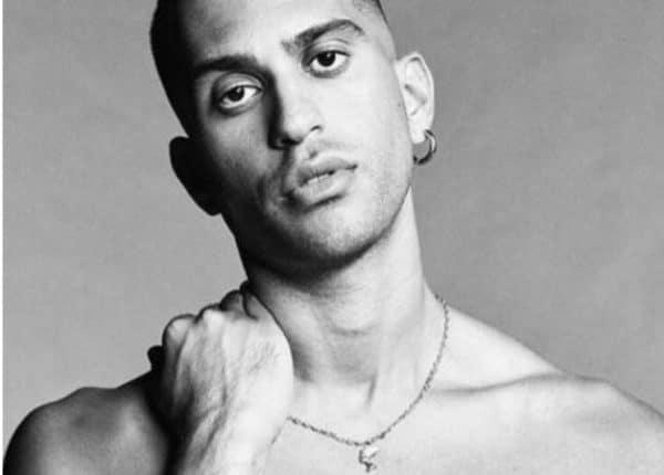 Mahmood Nudo fisico sexy