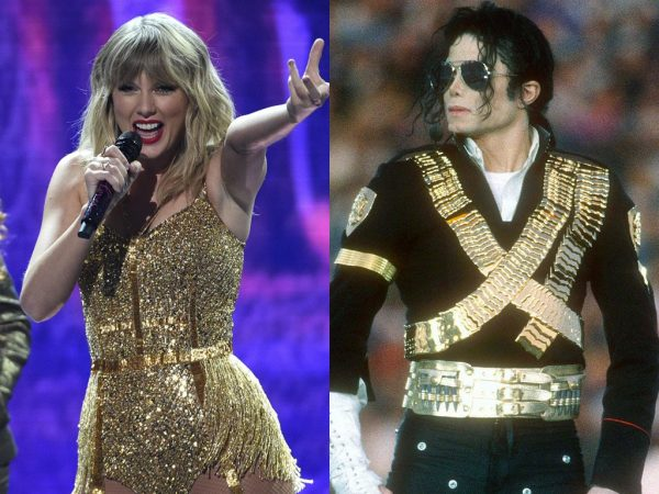 Taylor Swift Michael Jackson Record