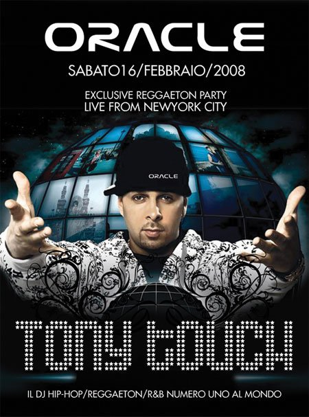 tony1502 Tony Touch a Milano alla Discoteca Oracle!