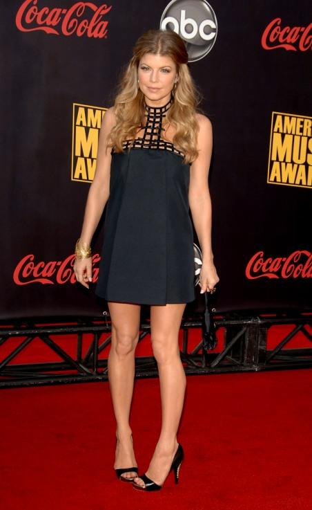 Foto e Opinioni sugli AMA 2007 - Parte 1 (Fergie, Beyonce ... Fergie Clumsy